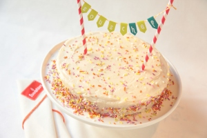Foodstirs confetti cake